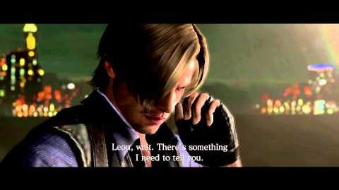 Leon And Chris Conversation Leon Resident Evil Wiki Fandom