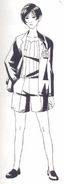 Resident Evil Archives page 218 - Ada concept art 1