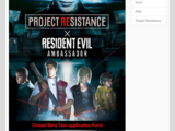 Project Resistance closed beta