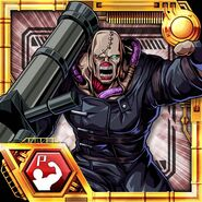 BIOHAZARD Clan Master - BOW card - Nemesis-T Type1