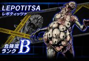 BIOHAZARD Clan Master - Battle art - Lepotica
