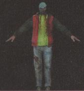 Degeneration Zombie body model 1