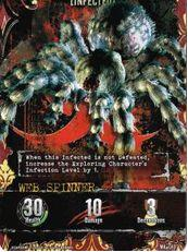 Outbreak card - Web Spinner MA-046