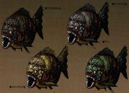 Piranha concept art