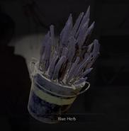 RE2 remake Blue Herb