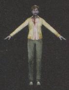 Degeneration Zombie body model 15