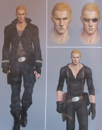 RE6 default Jake concept art