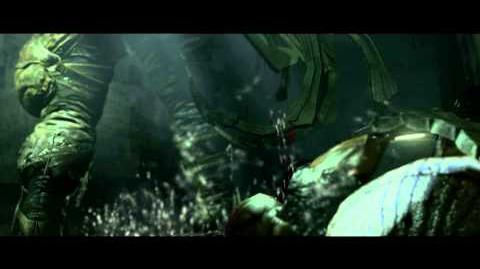 Resident Evil 6 all cutscenes - Ustanak, the Tracker