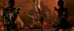 Chris e Sheva vs Wesker Uroboros