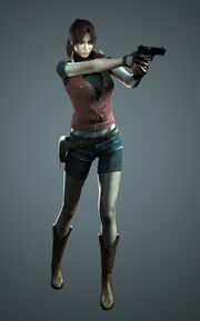 RE.NET Extra File Claire Redfield