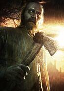 Resident Evil 7 Jack Baker render