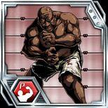 BIOHAZARD Clan Master - BOW card - Big Man Majini