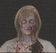 Degeneration Zombie face model 15