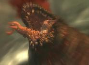 Malacoda head closeup