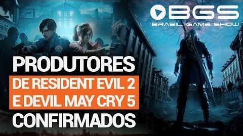 Produtores de Resident Evil 2 e Devil May Cry 5 estão confirmados na BGS2018