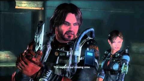 Resident Evil Revelations all cutscenes Episode 1-1 ending