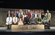 Biohazard the Stage press conference