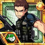 Clan Master Chris (RE6) character card