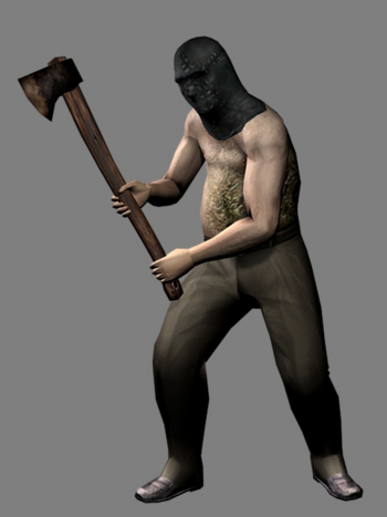 The Axe Man