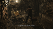 Resident Evil 0 HD - Worksite Remains hole examine 2