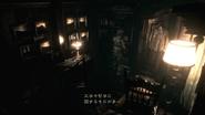 Resident Evil 2002 Dormitory - Room 001 bookshelf Japanese examine 2