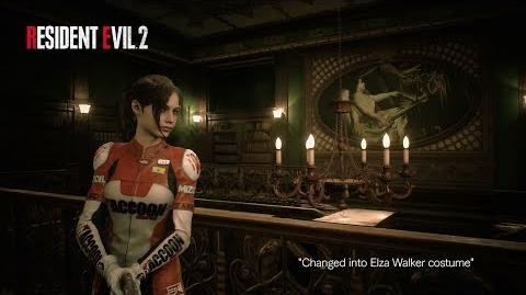 Resident Evil 2 Deluxe Edition Costume Showcase
