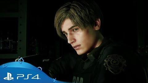 Resident Evil 2 E3 2018 PlayStation Showcase Trailer PS4