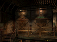 Resident Evil 3 background - Uptown - warehouse k - R10104