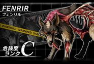 BIOHAZARD Clan Master - Battle art - Fenrir