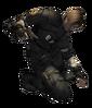 Leon rpd costume RE4 render