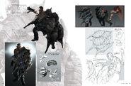 Resident Evil 6 Artworks - Creature Design (16)