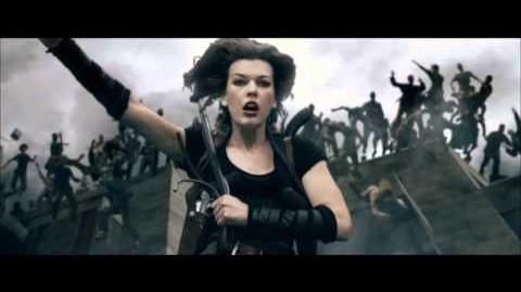 Resident Evil Afterlife Clip - Rooftop Jump