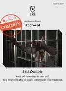 Zombieswanted jail zombie