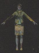 Degeneration Zombie body model 35