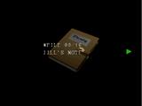 La note de Jill
