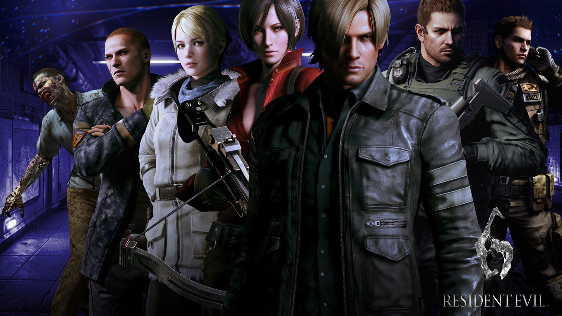 Resident Evil 6 Game HD Wallpaper 06 1920x1080