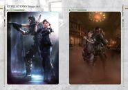 Resident Evil Revelations Artbook - page 23