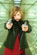 Alice in Resident Evil movie