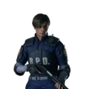RE2 remake - Leon Classic Police costume PV