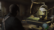 Resident Evil 4 Island Operating theater - Test subject body