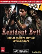 Resident Evil Prima Official Strategy Guide - front cover