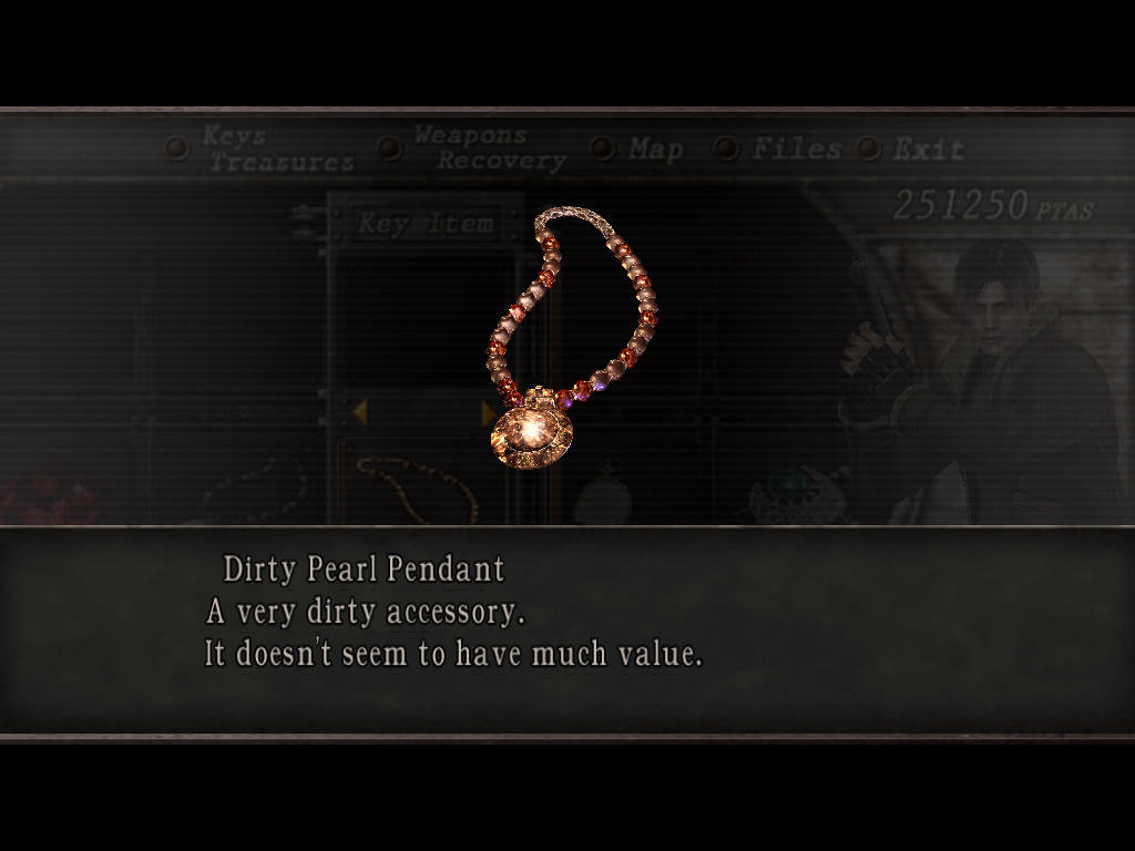 Dirty pearl pendant resident evil wiki fandom powered by wikia dirty pearl pendant aloadofball Choice Image