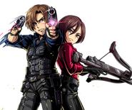 Leon & Ada RE6 Clan Master2