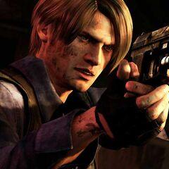 Леон в Resident Evil 6