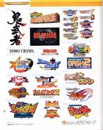 CAPCOM design WORKS art book - Chapter 05 - Taitle Logo - Page 222