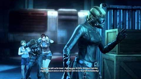 Resident Evil Operation Raccoon City all cutscenes - Against Umbrella (Bertha)