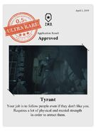 Zombieswanted tyrant