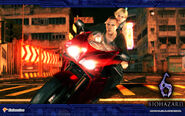 BIOHAZARD 6 (Pachinko game) Official wallpaper from Enterrise site 3