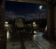 Arklay factory - Marshalling yard background 6