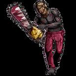 BIOHAZARD Clan Master - BOW art - Chainsaw Majini